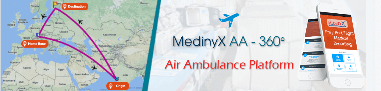 MedinyX AA-360° Air Ambulance Platform